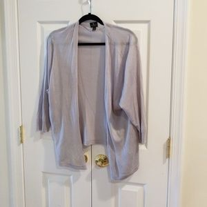 Blue / silver sheer cardigan